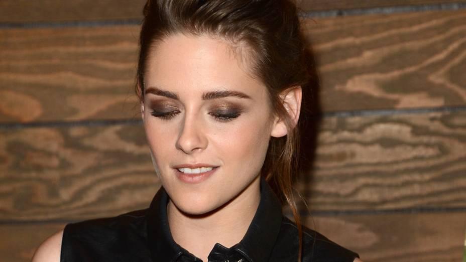 Kristen Stewart na exibição do filme Na Estrada no Festival Sundance de Cinema