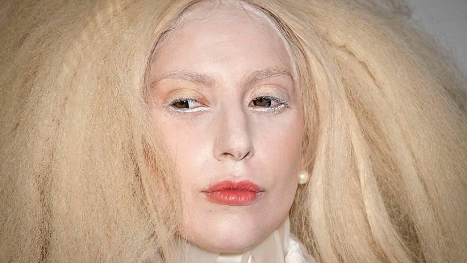 """Lady Gaga chega para o evento """"Mulheres do Ano"""" promovido pela Glamour Magazine, em Nova York"""