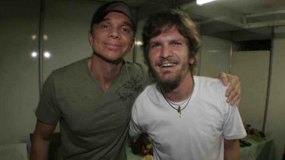 Netinho e Saulo Fernandes em 2008