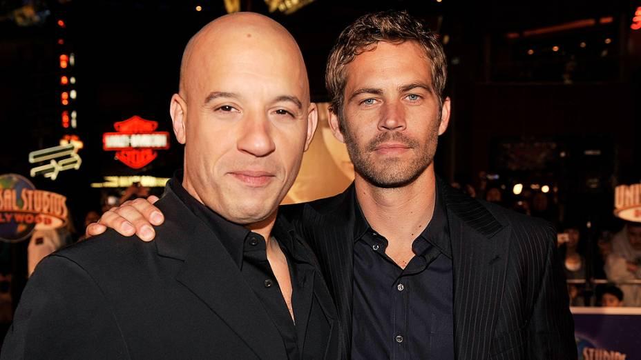 Paul Walker e Vin Diesel