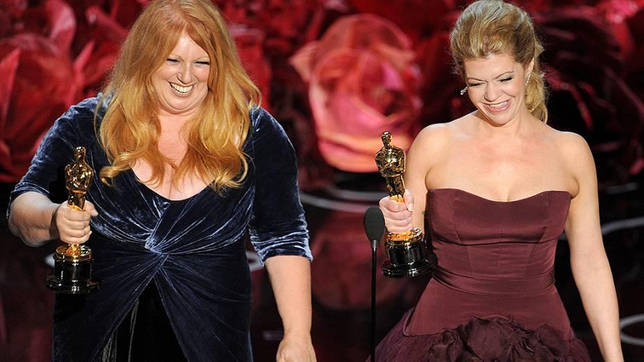 O Oscar de melhor Maquiagem ficou com a equipe do filme Clube de Compras Dallas