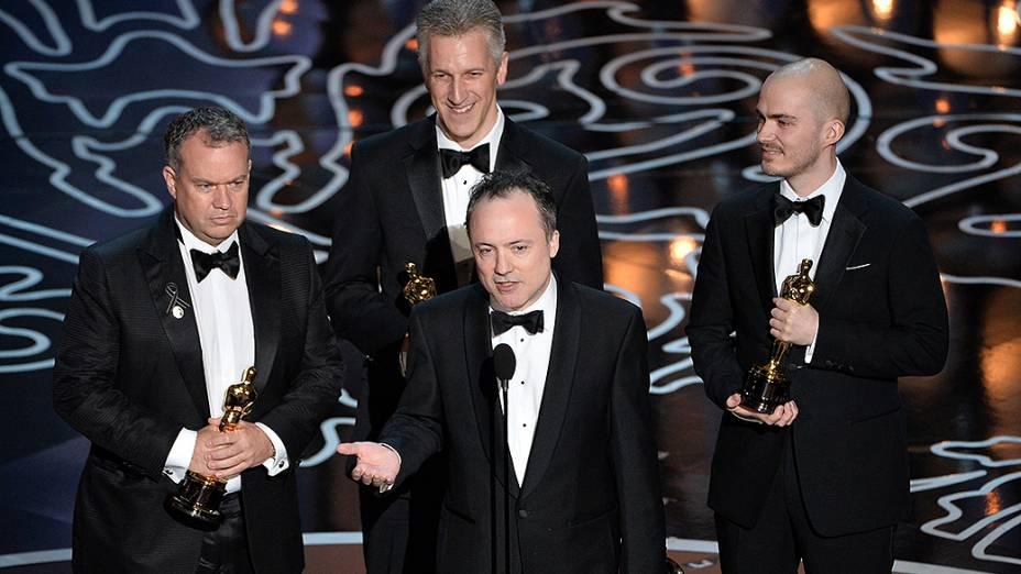 O filme Gravidade levou o prêmio de efeitos visuais