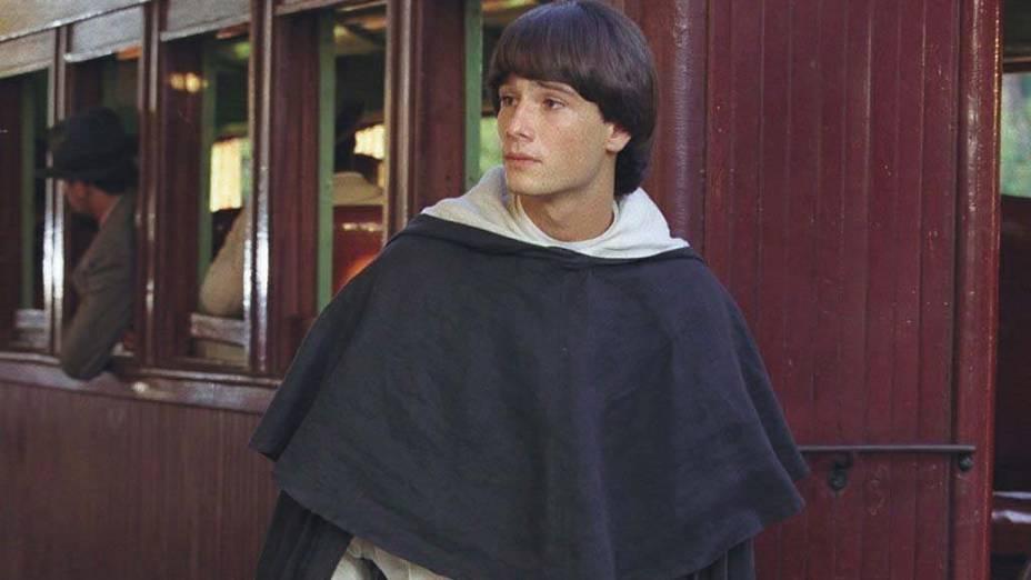 Rodrigo Santoro durante a minissérie Hilda Furacão, no ano de 1997