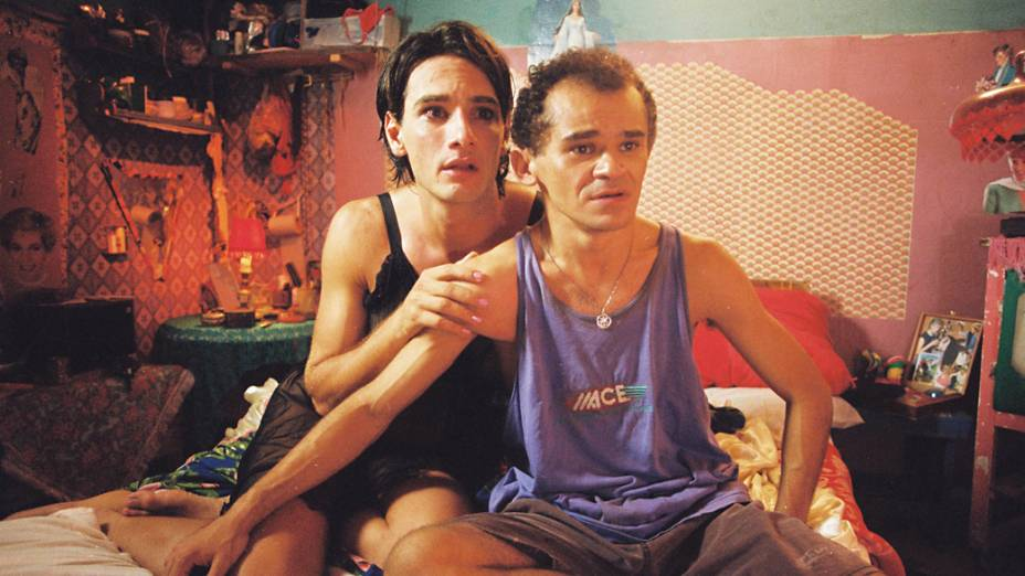 "<br><br>  Rodrigo Santoro e Gero Camilo no filme ""Carandiru"", de Hector Babenco"