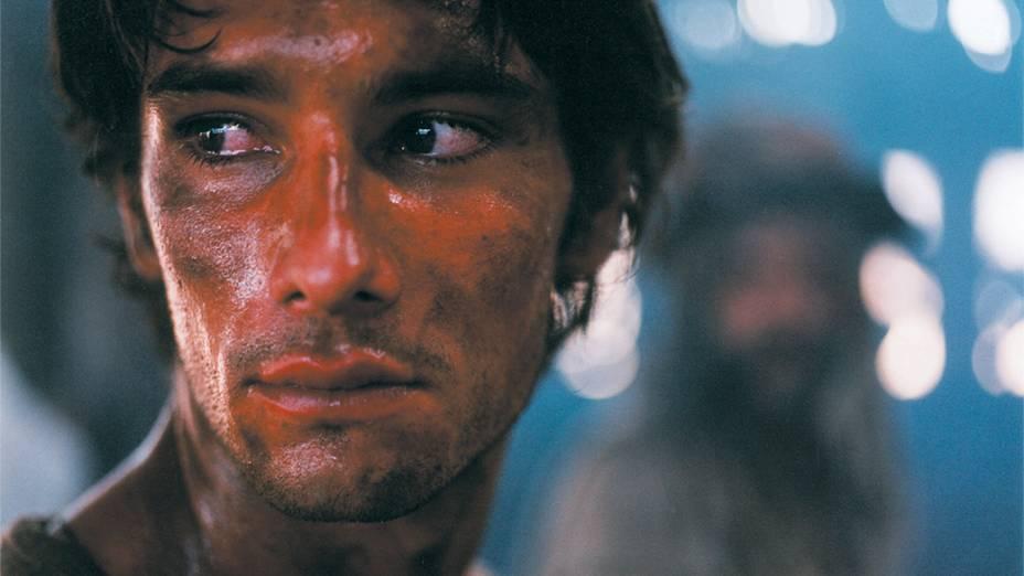 """<br><br>  Rodrigo Santoro, no filme """"Abril Despedaçado"""", de Walter Salles, em 2001"""