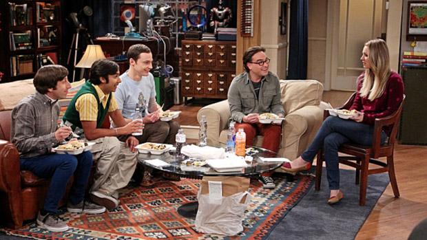 Cena da série The Big Bang Theory
