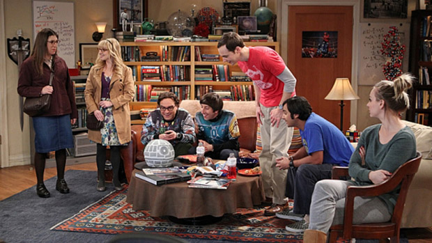 Cena da série Big Bang Theory