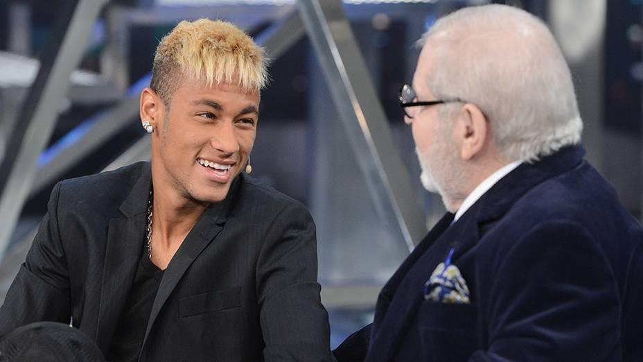 Jô Soares entrevista Neymar