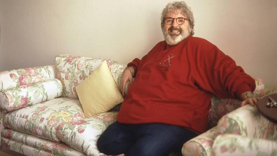 Jô Soares, humorista e apresentador em 1989