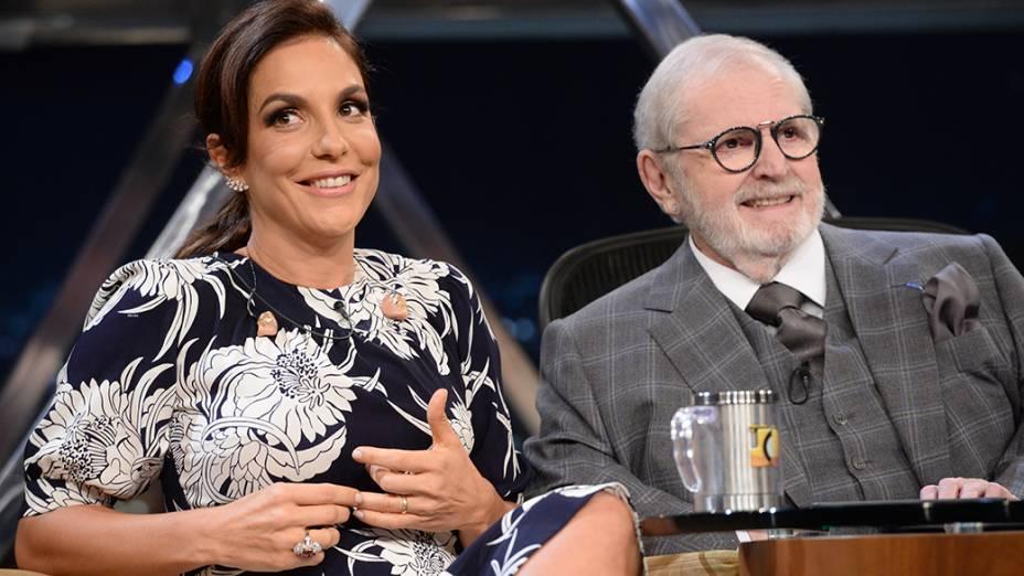 Jô Soares entrevista Ivete Sangalo