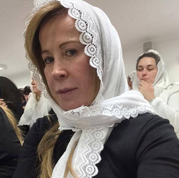 Zilú Camargo na igreja Congregação Cristã do Brasil