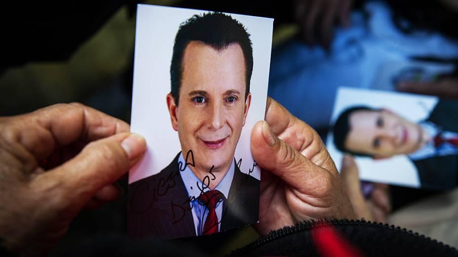 Retrato de Celso Russomanno, candidato à prefeitura de São Paulo