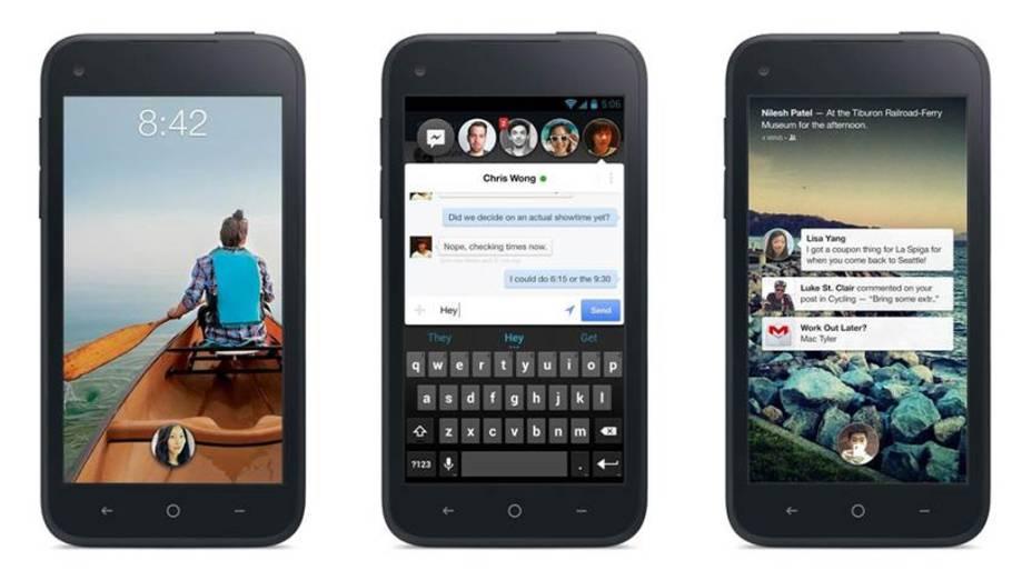 O novo celular do Facebook com sistema Android