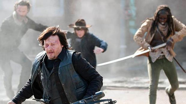 Cena da 5ª temporada de The Walking Dead