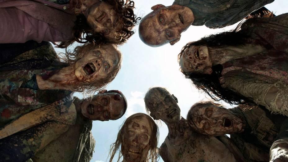 Cena da série The Walking Dead