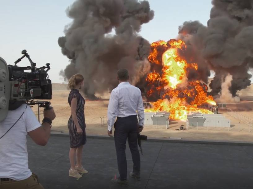 Cena de explosão do filme 007 Contra Spectre bate recorde mundial