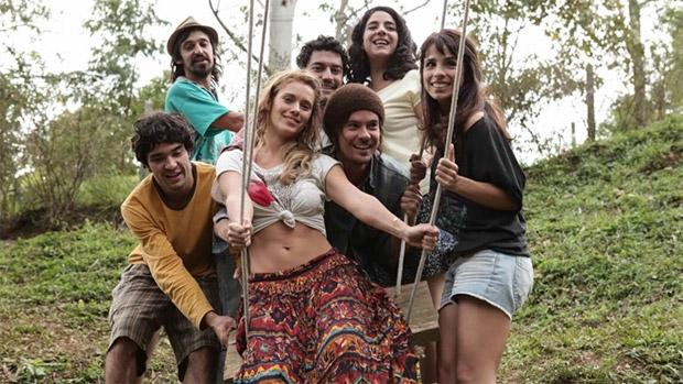 Cena do filme Entre Nós, de Paulo Morelli, com Caio Blat, Maria Ribeiro, Paulo Vilhena e Carolina Dieckmann no elenco