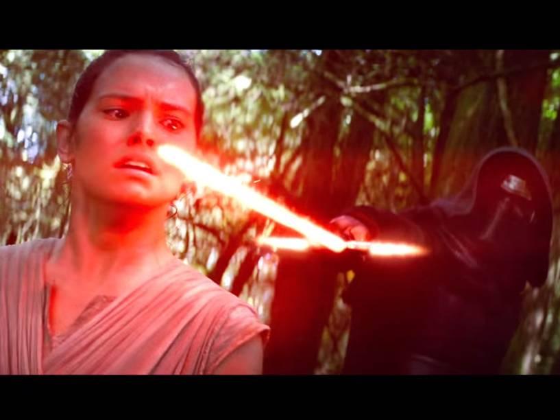 Cena do trailer de Star Wars: O Despertar da Força