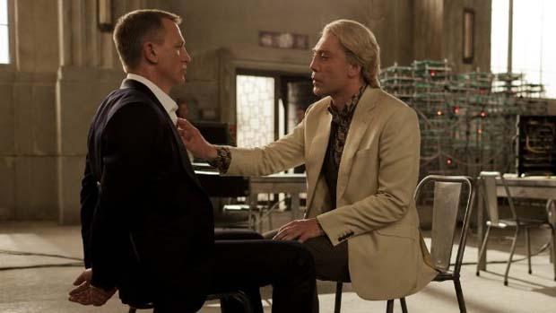 Cena do filme 007 - Operação Skyfall