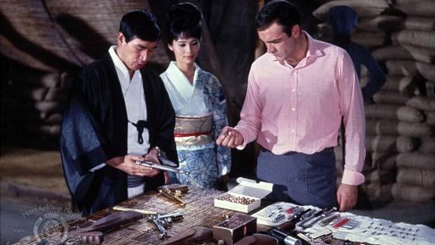 Cena do filme Com 007 Só se Vive Duas Vezes (1967), outro estrelado por Sean Connery