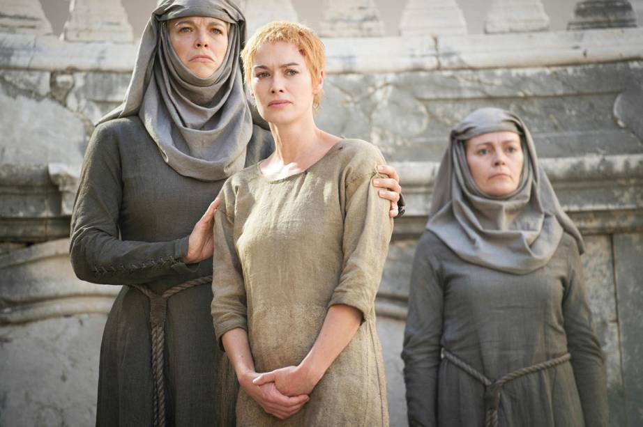 Cersei (Lena Headey) na quinta temporada de Game of Thrones