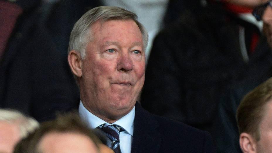 O escocês Alex Fergunson, ex-técnico e atual dirigente do Manchester United, é contra a independência.