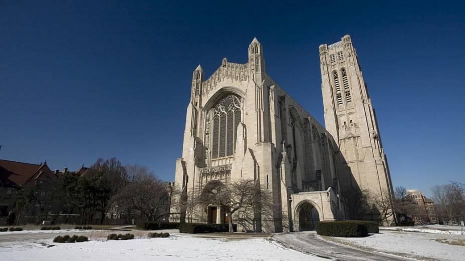 Capela Rockefeller Memorial, na Universidade de Chicago