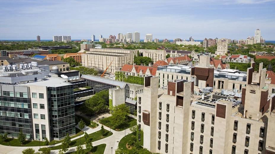 Universidade de Chicago, nos Estados Unidos - 10º lugar no ranking do THE