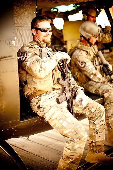 Chris Kyle, em uniforme da força Seal