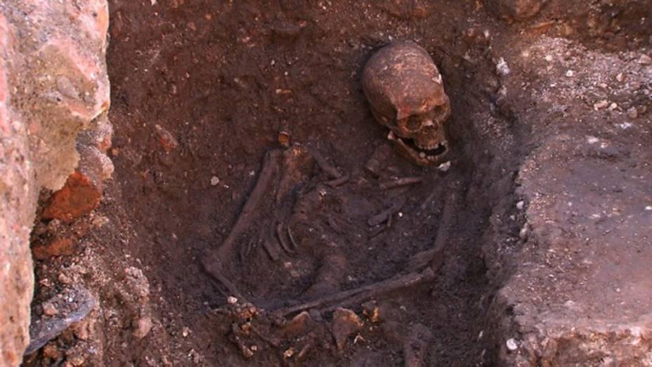 <p>O esqueleto de Ricardo III</p>