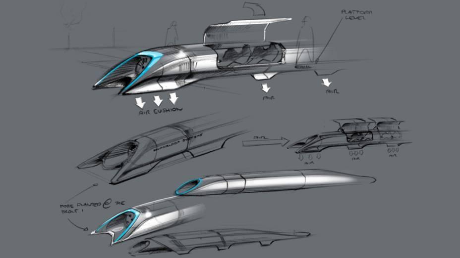 Elon Kusk divulgou todos dados de seu projeto para a construção do Hyperloop. Por enquanto, ele não pretende se envolver no desenvolvimento da tecnologia. O que não impede que outros cientistas e empresários o façam