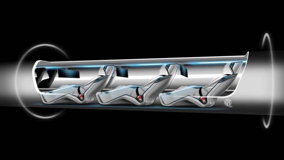 O sistema de tubos será capaz de disparar uma nova cápsula cada 30 segundos