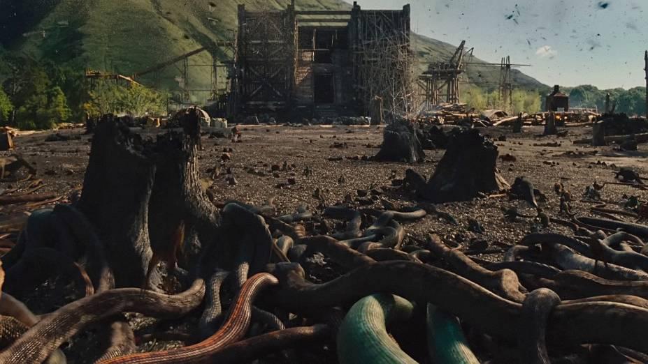 Cena do filme Noé