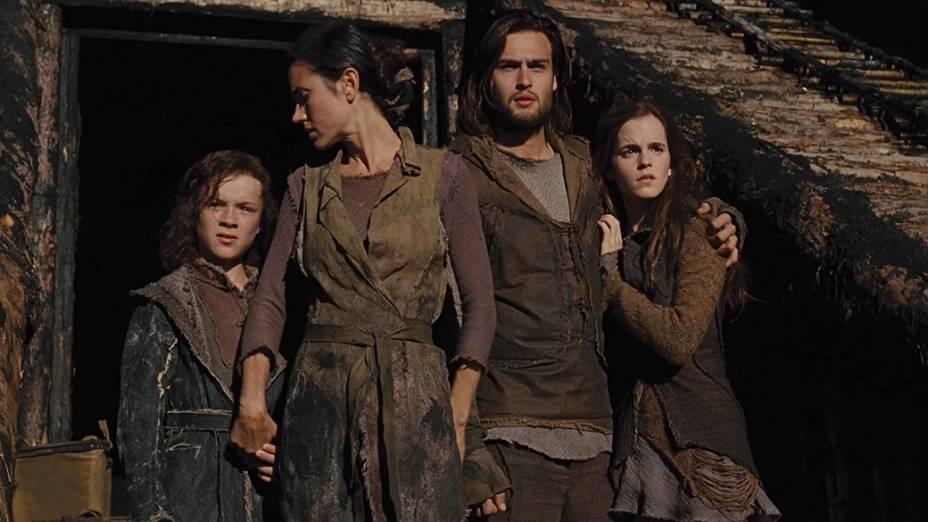 Os personagens do filme Noé