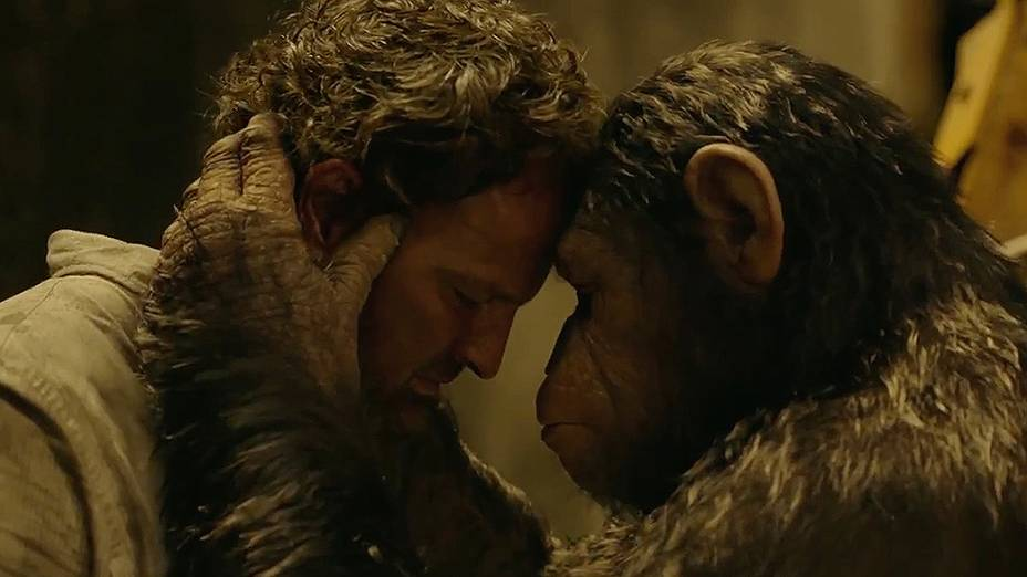 Cena do filme Planeta dos Macacos - O