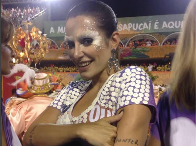 Cleo Pires no Carnaval 2016