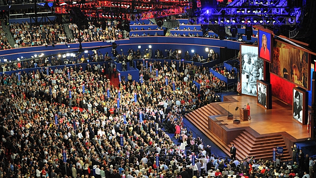 Convenção Nacional Republicana é realizada na cidade de Tampa, na Flórida