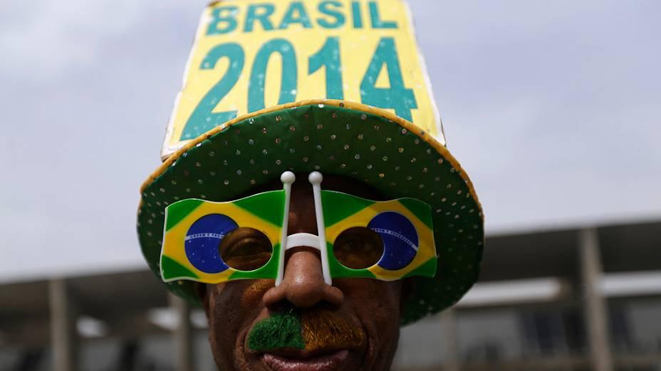 Anúncio dos 23 jogadores da seleção brasileira convocados pelo técnico Luiz Felipe Scolari para a Copa do Mundo 2014 em coletiva realizada na casa de show Vivo Rio, no Aterro do Flamengo, no Rio de Janeiro, nesta quarta-feira (07)