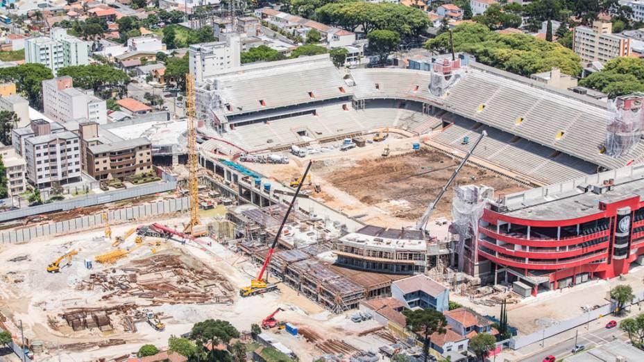 Arena da Baixada em Curitiba