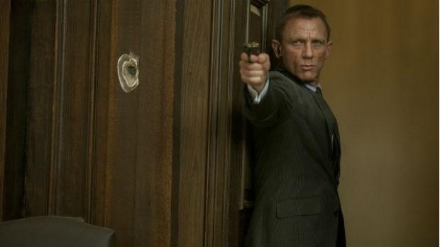 Daniel Craig em cena de 007 - Operação Skyfall, que estreia em 26 de outubro de 2012