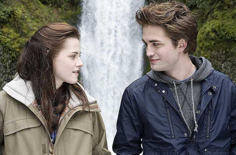 Robert Pattinson e Kristen Stewart.