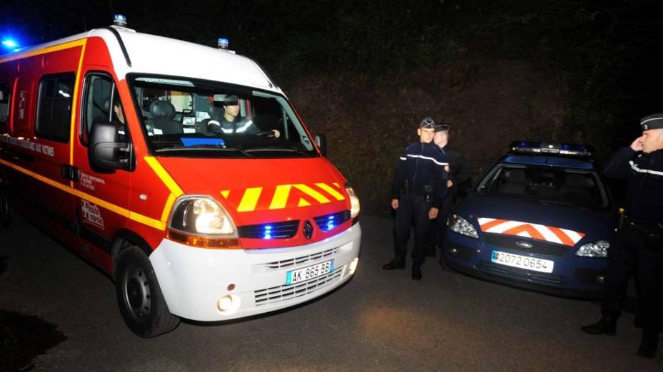 Resgate chega ao local do crime em que quatro pessoas foram assassinadas em Chevaline, França