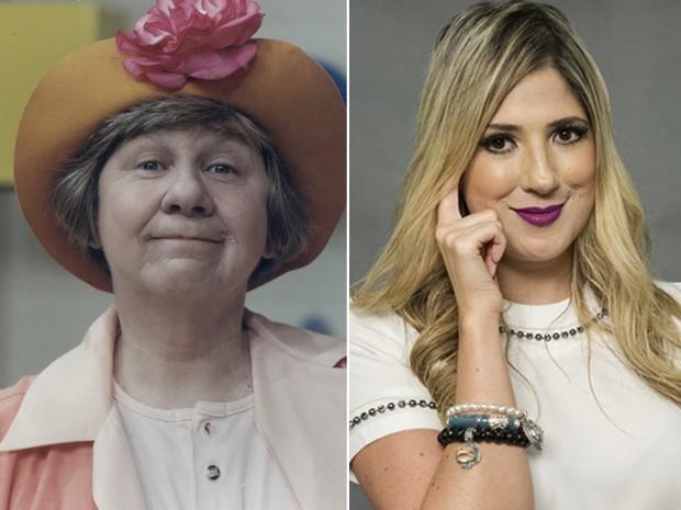 Dani Calabresa vai interpretar a personagem Dona Catifunda, papel que foi de Zilda Cardoso