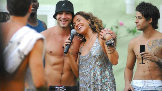 Daniela Mercury faz show no <em>BBB8</em>
