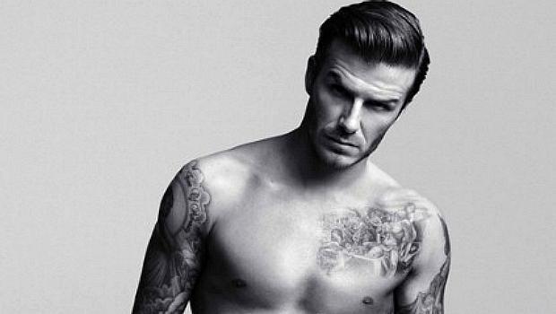 David Beckham em campanha de roupas íntimas