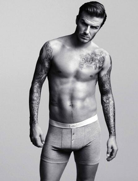 David Beckham estampa sua campanha de roupas íntimas em parceria com a H&M