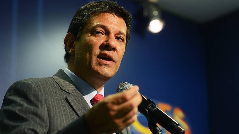 Debate entre os candidatos à Prefeitura de São Paulo Fernando Haddad (PT) e José Serra (PSDB), em 26/10/2012