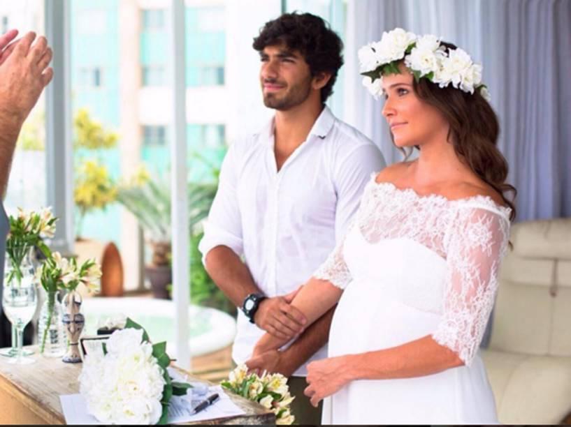 Deborah Secco e Hugou Moura se casam