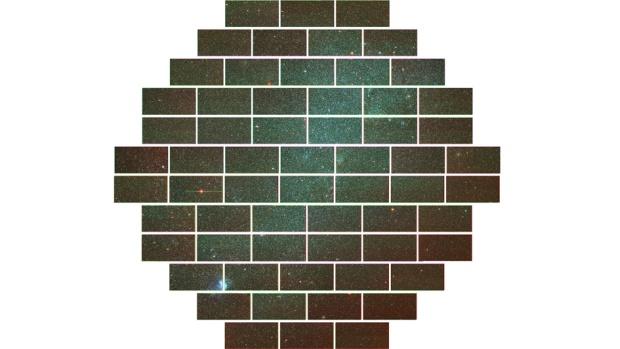 Imagem da pequena nuvem de Magalhães, uma galáxia anã localizada a 200.00 anos-luz da Terra
