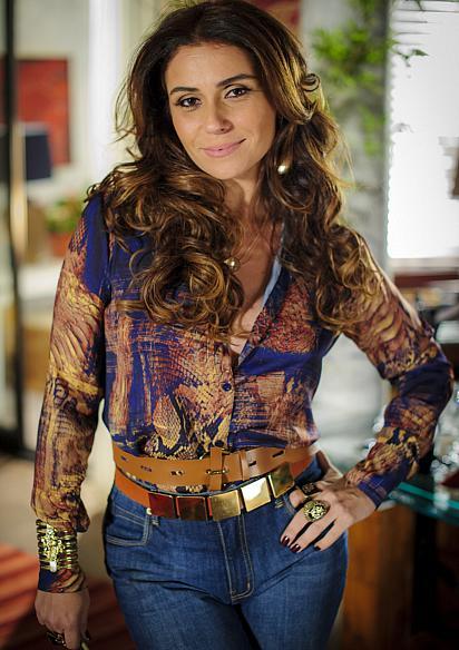 Delegada Helô é a personagem de Giovanna Antonelli em Salve Jorge
